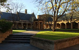 St Peter's College, Adelaide - The Big Quadrangle in the Senior School