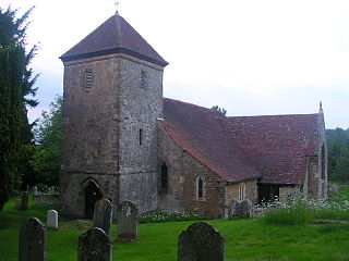 Lodsworth village in the United Kingdom