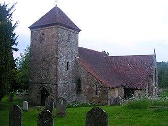 Lodsworth - Image: St Peter's Lodsworth