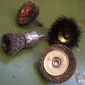 Wire brush - Round wire brushes
