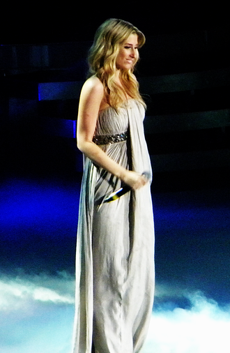 Stacey Solomon - Solomon performing on the 2010 X Factor tour.