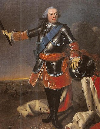 William IV, Prince of Orange, stadholder from 1747 to 1751 CE. StadhouderWillemIV(4).jpg