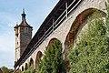 Stadtmauer östlich des Klingentors Rothenburg ob der Tauber 20190922 005.jpg