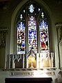 Stained glass window, St Andrew's Church, Meonstoke - geograph.org.uk - 685786.jpg