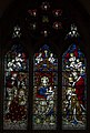 Stained glass window, St Swithin's church, Lincoln (16051187915).jpg