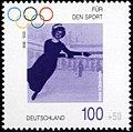 Stamp Germany 1996 Briefmarke Sport Annie Hübler-Horn.jpg