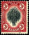 Stamp Malaya Kedah 1912 3c.jpg
