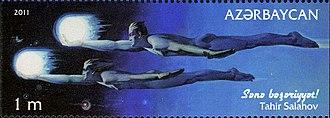 Tahir Salahov - Image: Stamps of Azerbaijan, 2011 944