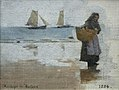 Stanhope Forbes Study of a Fisherwoman 1884.jpg