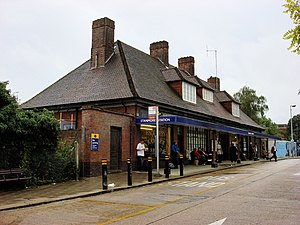 Stanmore tube station - Image: Stanmore tube station 1