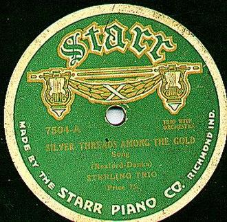 Gennett Records - Starr record label