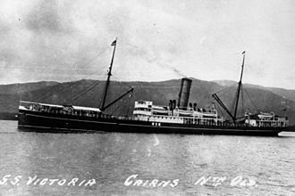 Pacific Steam Navigation Company - Victoria, built in 1902 and scrapped in 1923