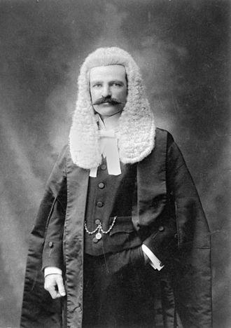 James Blair (Australian judge) - Judge Blair