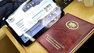 State Duma - Voting Device.
