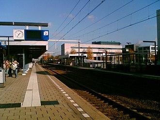 Amersfoort Schothorst railway station - Image: Station Amersfoort Schothorst