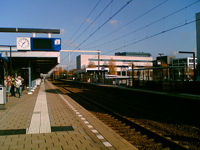 How to get to Station Amersfoort Schothorst with public transit - About the place
