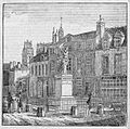 Statue of Jeanne d'Arc in Orleans 1834.jpg