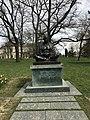 Statue of Mohandas K. Gandhi in Geneva - 2.JPG
