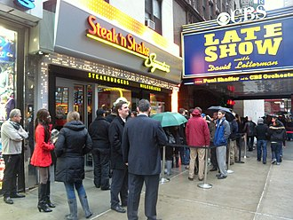 Steak 'n Shake - Opening of New York City location in 2012 which has since closed