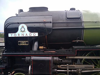 Snifting valve - LNER Peppercorn A1 class Tornado The snifting valve is the small mushroom directly behind the chimney. The square cover beneath is another distinctive LNER feature, covering the end of the superheater header.