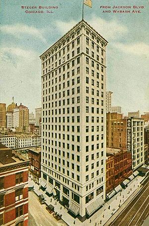 Steger, Illinois - The Steger Building, 48 E. Jackson Blvd., Chicago, IL