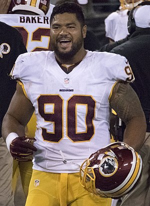 Stephen Paea - Paea with the Washington Redskins in 2015
