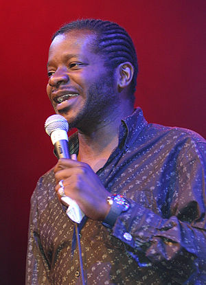 Stephen K. Amos - Amos at the Edinburgh Fringe Festival in 2005