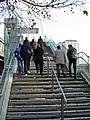 Steps to Golden Jubilee Bridge - geograph.org.uk - 618645.jpg