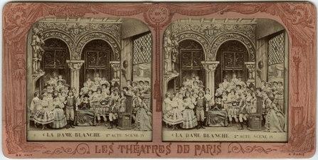 Stereokort, La Dame blanche 4, acte II, scène IV - SMV - S164a.tif
