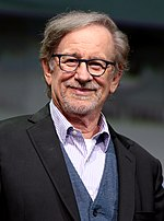 Photo of Steven Spielberg in 2016.