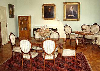 Adalbert Stifter - Stifter's study in his Linz house