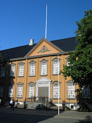 Stiftsgården - Main front entrance