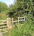 Stile near Tyers Hall. - geograph.org.uk - 517461.jpg