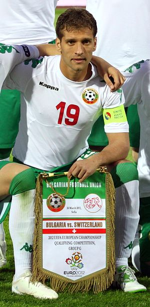 Stiliyan Petrov - Petrov with Bulgaria in 2011