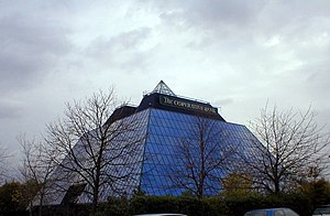 The Co-operative Bank - The Stockport Pyramid building provides administrative services, including a call centre for Smile and the Co-operative Bank.