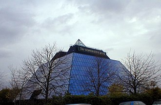 Metropolitan Borough of Stockport - The Stockport pyramid, a call centre for The Co-operative Bank