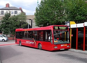 Trentbarton - Optare Excel at Stockport bus station in August 2006