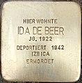 Stolperstein Ida de Beer1.jpg