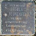 Stolperstein Köln, Ursula Blumenfeld (Robert-Heuser-Straße 3).jpg