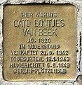 Stolperstein Kaiserdamm 22 (Weste) Cato Bontjes Van Beek.jpg