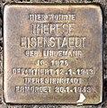 Stolperstein Wartburgstr 42 (Schöb) Therese Eisenstaedt.jpg