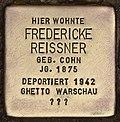 Stolperstein für Fredericke Reissner (Cottbus).jpg