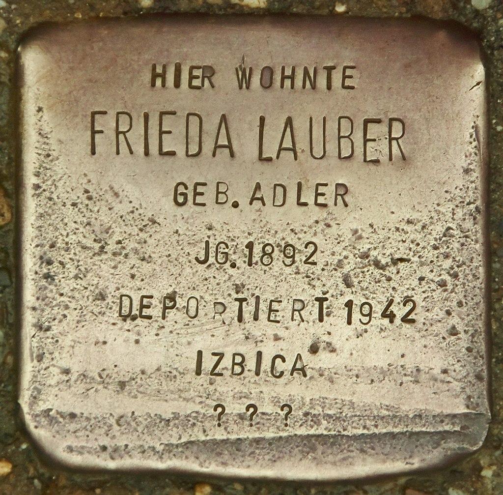 Stolperstein für Frieda Lauber (Marktbreit).jpg