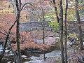 Stone Arch Bridge over McCormick's Creek, western side from below.jpg
