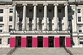 Stormont Parliament Buildings during Giro d'Italia, May 2014(2).jpg