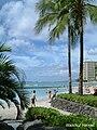 Strand von Waikiki auf Hawaii.jpg
