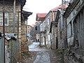 Street in the village Lin, Albania (6851590343).jpg