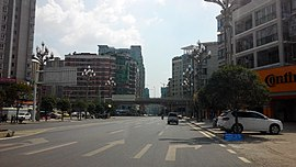 Streetview in Huichuan District, Zunyi, Guizhou.jpg
