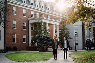 Lafayette College - South College is one of Lafayette's largest residence halls, housing approximately 220 students in a coeducational setting.