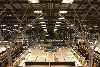 Stuttgart Airport - One of the two main halls